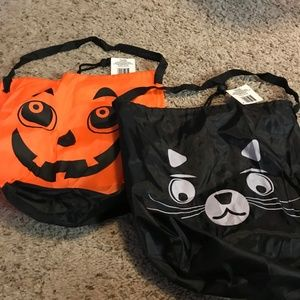 Holiday - Bundle Halloween Trick Or Treat Bags NWT